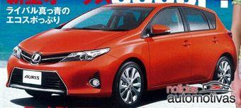 Новое поколение Toyota Auris. Изображение журнала CarTop.