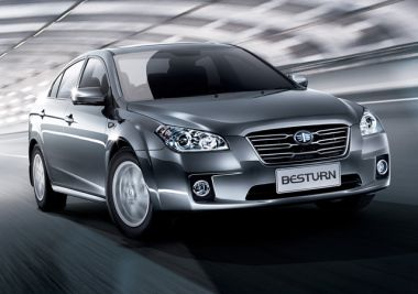 Китайский седан FAW Besturn B50 выходит на российский рынок
