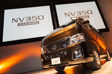 Nissan представил новое поколение микроавтобуса NV350 Caravan
