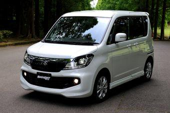 Suzuki Solio Bandit дебютировал на японском рынке.