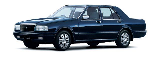 С 1991 года без изменений! В Японии выпустили «обновлённый» седан Nissan Cedric