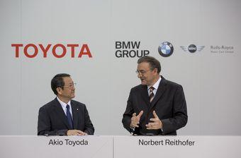 АкиоТойода иНорбертРайтхофер подписали меморандум о взаимопонимании. Теперь компании BMW и Toyota планируют совместную работу в четырех новых направлениях.
