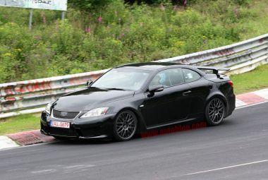 Lexus провел тесты спортивного кабриолета ISF