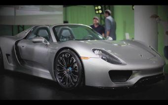 Porsche 918 Spyder показали покупателям.