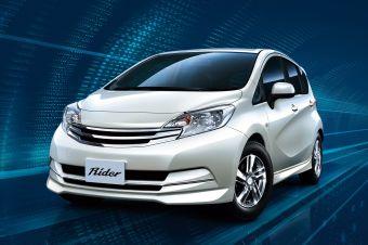 Nissan Note нового поколения в тюнинг-версии Rider.