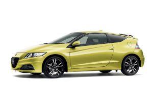 В Японии вышла рестайлинговая версия гибрида Honda CR-Z с «реактивной» кнопкой