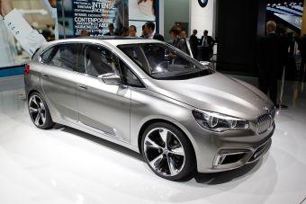 Концпет-кар BMW Active Tourer показали на автосалоне в Париже.