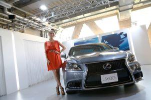 Lexus представил вЯпонии обновленный флагманLS