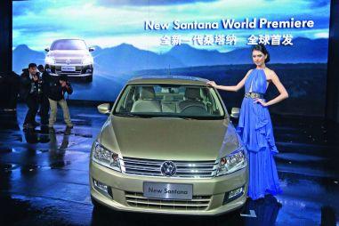 Volkswagen представил Santana второго поколения через 30лет после выхода первого