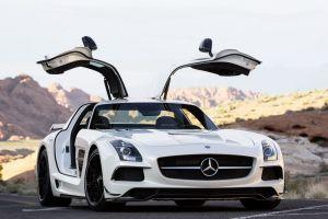 Купе SLS AMG — самый мощный представитель Mercedes-Benz Black Series