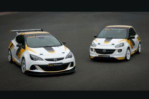 Opel возвращается вавтоспорт смоделями Adam иAstraOPC
