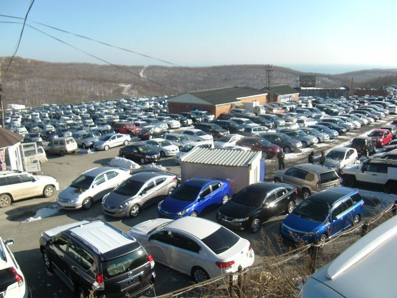 Автостат: приморцы ездят на автохламе