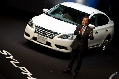 Nissan представил вЯпонии новый седан Sylphy