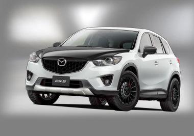 Mazda готовит к автосалону в Токио тюнинг-версии Atenza, Atenza Wagon и CX-5