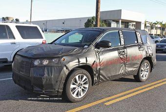 Прототип Toyota Highlander третьего поколения
