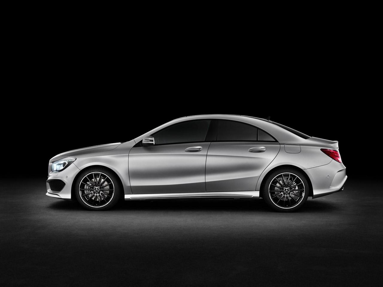 Четырехдверное купе Mercedes-Benz CLA может дебютировать в Детройте 47