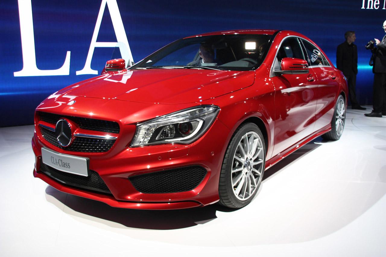 Четырехдверное купе Mercedes-Benz CLA может дебютировать в Детройте 49