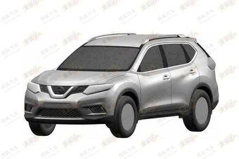 Патентные изображения нового Nissan X-Trail