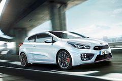 Kia cee'd GT и pro_ceed' GT в Европе придется конкурировать с целой группой мощных хэтчбеков, среди которых Volkswagen Golf GTI, Ford Focus ST, Renault Megane RS и Opel Astra OPC.