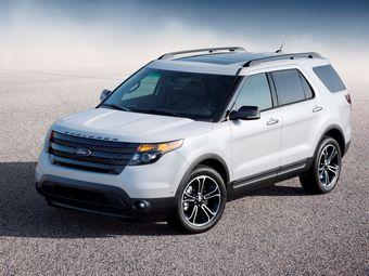 Explorer Sport оснащен 3,5-литровым V6 серии EcoBoost мощностью 360 л.с. Такой внедорожник оценивается в 2 158 000 рублей.