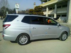 Мировая премьера корейского минивэна должна состояться на Женевском автосалоне.