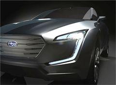 Концепт-кар Viziv покажет новое новое направление в дизайне и технологиях Subaru.