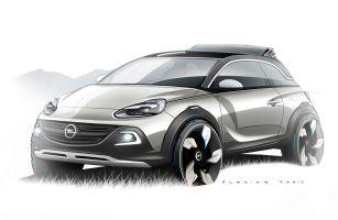Opel привезет в Женеву мини-кроссовер Adam Rocks