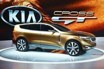 Kia Cross GT на автосалоне в Чикаго.