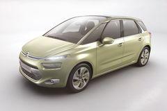 Концепт-кар Technospace станет прототипом минивэна Citroen C4 Picasso нового поколения.