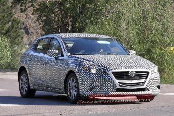 Новая Mazda 3 пока лишь проходит испытания, но ее дебют может состояться уже в этом году.