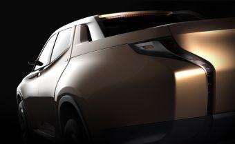 Тизер гибридного пикапа Mitsubishi GR-HEV