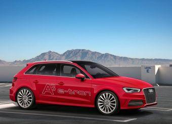 Audi A3 e-tron использует бензиновый 1,4 TFSI (150 л.с.) и 101-сильный электромотор. Расход топлива может не превышать 1,5 литра на 100 км, а запас хода на электротяге достигает 50 км.