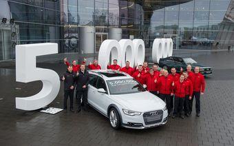 В прошлом году на полноприводные модели пришлось более 43% мировых продаж Audi.