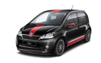 Citigo Sport имеет ряд отличительных деталей во внешности и интерьере, а также заниженную подвеску. Двигатель позаимствован от стандартной модели.
