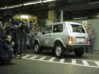 Юбилейный автомобиль будет продан, а вырученные средства передадут ветеранам «АвтоВАЗа».