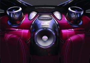Из мира прекрасного. Pagani Huayra получит роскошную аудиосистему