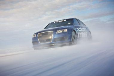 Установлен новый мировой рекорд скорости на льду: 335,713 км/ч