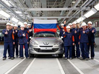 Сборка седана Peugeot 408 локализована на треть