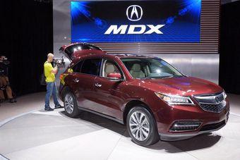 Acura MDX дебютировал в Нью-Йорке. Ждём его в России через... год.
