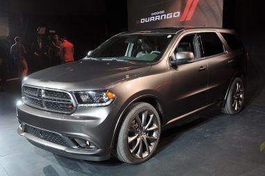 Нью-Йорк 2013. Dodge показал обновлённый внедорожник Durango