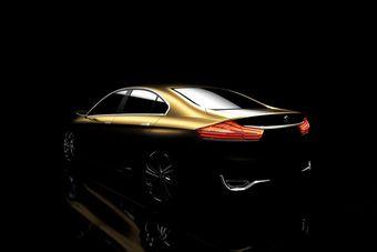 Suzuki привезет в Шанхай концепт нового седана С-класса. Пока что опубликованы только тизеры этой модели.