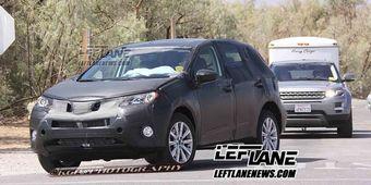 Прототип Lexus NX на тестах в США. В следующем году ожидается старт продаж новой модели.