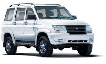 UAZ Patriot Welcome оснащается бензиновым двигателем и окрашивается только в белый цвет неметаллик.
