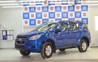 Внедорожник стал пятой по счету выпускаемой моделью на петербургском заводе GM.