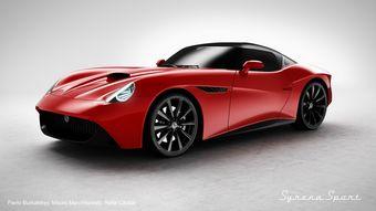 FSO Syrena Sport возрождает имя спортивного прототипа, разработанного в Польше около 60 лет назад.