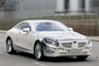 Mercedes CL-Class, тестовый образец замечен на дорогах Германии.