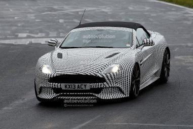 Aston Martin начал обкатку кабриолета Vanquish Volante