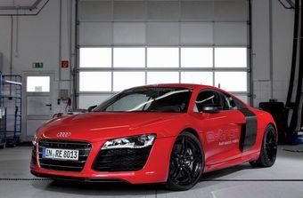 Audi R8 e-tron — электрический спорт-кар — в серийное производство не пойдёт.