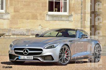 Нвовое поколение Mercedes SLS потеряет знаменитые двери-крылья