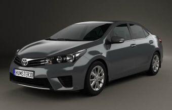 3D-модель Toyota Corolla нового поколения